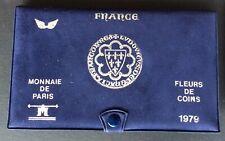 FRANCE - Superbe  Coffret FDC 1979 - ailes argentées