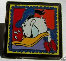 Disney Angry Donald Duck Framed Stamp Pin