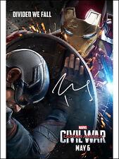 Robert Downey Jr SIGNED PHOTO AVENGERS Captain America CIVIL WAR Marvel AUTO