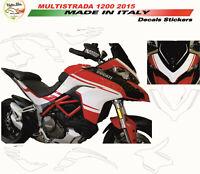 """Kit adesivi design esclusivo - Moto Ducati Multistrada 1200 2015 """"V285"""""""