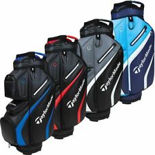 TaylorMade Golf Deluxe Trolley Cart Bag Mens 14 Way Divider