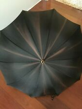 Early Vintage Haas Jordan Acetate Umbrella Parasol Made In Toledo Ohio