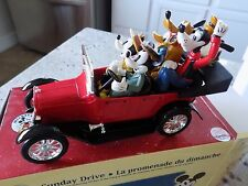 1999 Disney Sunday Drive 1917 Touring Car The Ertl Co Mickey Minnie Goofy Pluto