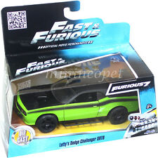 JADA 97140 FAST AND FURIOUS 7 LETTY'S DODGE CHALLENGER SRT8 OFF ROAD 1/32 GREEN