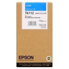 CARTUCCIA ORIGINALE CIANO EPSON T6112
