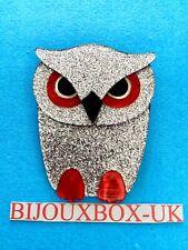 """LEA STEIN """"BOUBA"""" OWL BROOCH. Best Selection Online."""