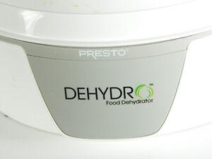 Presto 06300 Dehydro 600W Electric Food Dehydrator - White