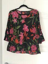 Liz Jordan Ladies Top - Size 10 - (5+ items free postage - AU only)