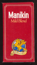 Empty cigar packet  5 MANIKIN Mild Blend