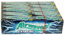 Wrigley's Airwaves Extreme Chewing Gum Full Box of 30 Packs Free P&P Only £13.49