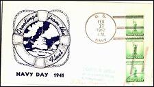 OAS-CNY 4839 NAVAL COVER US NAVY 1941