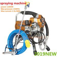 395 Airless High Pressure Spray Paint Machine Wall Paint Spray Sprayer 2200W DHL