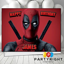 Personalised Deadpool Birthday / Any Greetings Card A5 Your Name (S2)