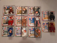 2000 McDonald's Happy Meal Toys - Ty Teenie Beanie Babies FULL SET OF 11 TOYS