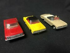 vintage early slot cars lot of 3 Aurora UNKNOWN BY SELLER group #2