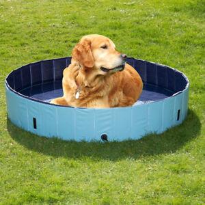 HUNDEPOOL 120 x 30 cm Doggy Pool Keep Cool Hunde Planschbecken 299 1642