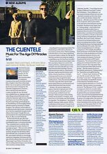 CLIENTELE - MUSIC FOR THE AGE OF MIRACLES REVIEW original press clipping 20x28cm