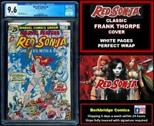 🔥 MARVEL FEATURE #4 CGC 9.6 NICE AS OUR 9.8 🔥$1 SHIP W RED SONJA 1 or CONAN 24
