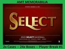 Gavin Lux Los Angeles Dodgers 2020 Panini Select 2X Case 24x BOX PLAYER BREAK #1
