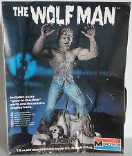 HORROR: 1983 1/8 scala il Lupo Uomo brillano al buio Monogram Model Kit (mlfp)
