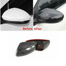 Carbon Fiber Side Rearview Mirror Cover Trim For Nissan Sentra Sylphy 2020 2021