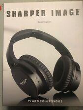 Sharper Image Wireless TV Headphones New