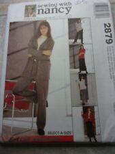 Mccalls 2879 pierde coser con Nancy fácil de punto Armario Patrón De Costura Talla S-XL