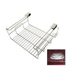 New Stainless Steel Wire Clip Under Shelf Sink Space Saver Kitchen Organizer