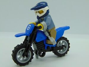 Genuine Lego City Mountain Police Officer And Dirt Bike set 60170