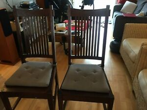Lombok dining chairs