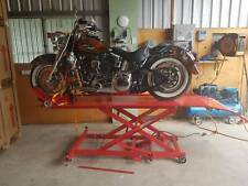 Motorcycle lifter work table air / hydraulic lift