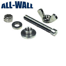 Drywall Flat Box Handle Mounting Screw / Stud and Wing Nut Kit - TapeTech Boxes