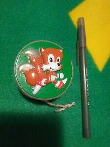 1994 UK Sega Sonic the Hedgehog Tails yo-yo Kelloggs Frosties toy New old stock