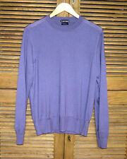 Tom Ford Men's Silk Cashmere Purple Crewneck Sweater Orig. $1595 Worn Once