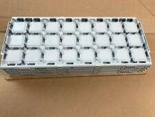 4 X INTEL CPU TRAY FC-PGA 35mm X 35mm For Pentium 4 and Celeron, Socket 478 CPUs