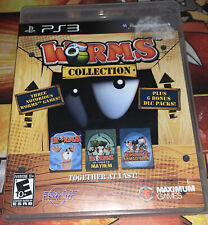 Worms Collection Armageddon (Sony PlayStation 3, PS3) Funny Gift Army Shooter
