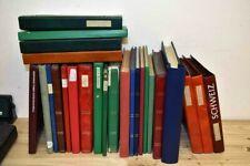 Schweiz: GIGANTISCHER Bestand Viererblocks in 25 (!!) Alben aus Nachlass