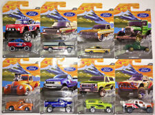 Hot Wheels Walmart Exclusive 2018 FORD Trucks Complete Set of 8