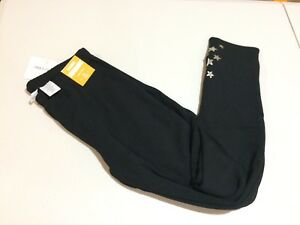 NWT Gymboree Warm and Fuzzy Black with star Leggings Winter Star Girls many size