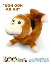 Zookerz® Monkey Blade Covers - TALKING SKATE SOAKERS!