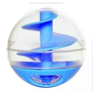 NEW! CatIt Cat Toy & Treat Dispenser Ball Toy - Blue 51282