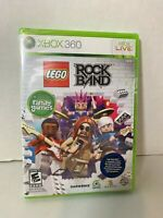 LEGO Rock Band (Microsoft Xbox 360, 2009) Brand New Sealed | Music Guitar Hero