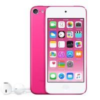 >>Apple iPod Touch 6th Gen (128GB) (PINK) A8 Chip 8MP Cam - Apple Warranty<<