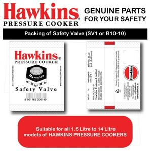 HAWKINS Pressure Cooker Safety Valve, 1.5 to 14-Liter 160 mm FAST Shipping AUS!!