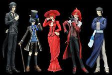Black Butler Kuroshitsuji Ciel Japan Anime figures Set of 6pc