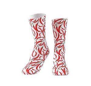 Chili Socks. Red Chili Socks.Vegetable socks.Farmer socks.Vege socks.Spicy socks
