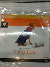 Dog costume (Halloween) pet costume -super dog- new with tags size small (s)