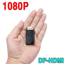 1X Black Display Port DP Male to HDMI Female Converter Adapter for HDTV PC 1080p