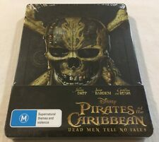 Pirates of the Caribbean: Dead Men Tell No Tales - Limited Steelbook Blu-Ray