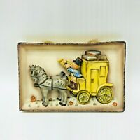 Vintage Goebel West Germany Hummel The Mail Is Here 140 TMK-3 Boy Carriage Horse